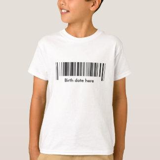 Código de barras tshirt