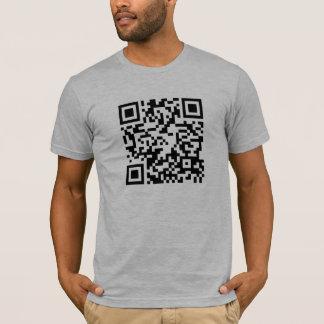 Código de QR - Android e camisa scannable do