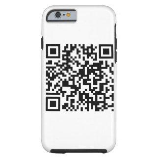 Código de QR Capa Tough Para iPhone 6