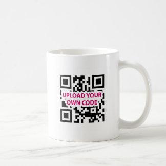 Código de QR customizável Caneca De Café