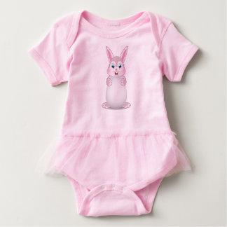 Coelhinho da Páscoa bonito Bodeysuit Body Para Bebê