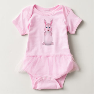 Coelhinho da Páscoa bonito Bodeysuit T-shirt