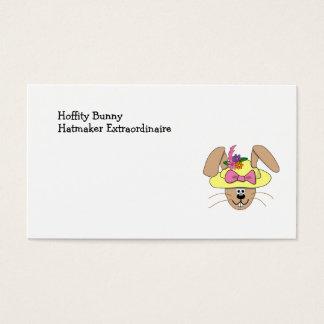 Coelhinho da Páscoa bonito dos desenhos animados Cartão De Visitas