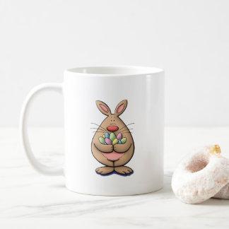 coelhinho da Páscoa bonito & engraçado que Caneca De Café