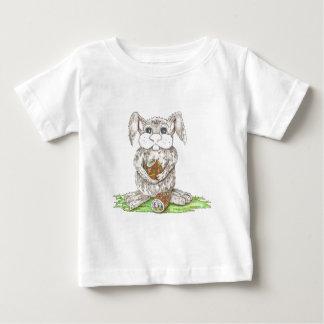 Coelhinho da Páscoa Camiseta Para Bebê