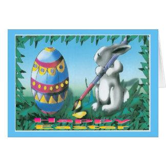Coelhinho da Páscoa Cartão Comemorativo
