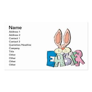 Coelhinho da Páscoa Cartão De Visita