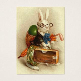 Coelhinho da Páscoa com vidros Cartão De Visitas
