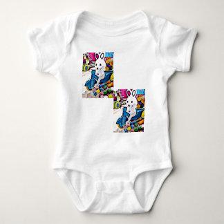 Coelhinho da Páscoa dos doces Body Para Bebê