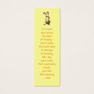 Coelhinho da Páscoa e cesta leve estupefacção dos Cartão De Visitas Mini