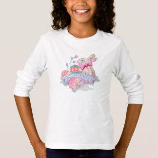 Coelhinho da Páscoa e ovos ID377 Camiseta