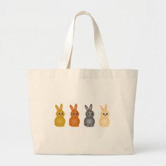 Coelhinhos da Páscoa Bolsa Para Compras