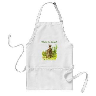Coelho de coelho na grama o que é para o avental