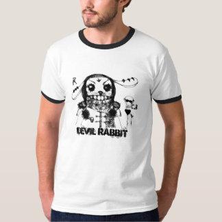 Coelho do diabo camiseta