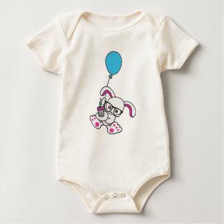 coelho do hipster body para bebê