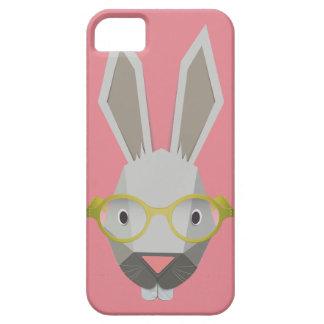 coelho engraçado do caso magro do iPhone 5/5S Capas Para iPhone 5