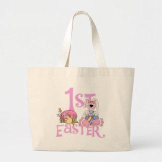 Coelho, ovos e camiseta e presentes da páscoa do p bolsa