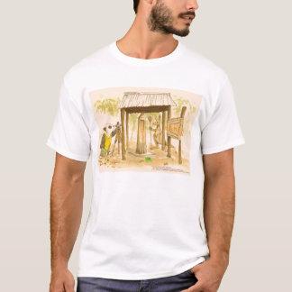 COELHOS Merrimac da ILHA   da ROCHA Camiseta