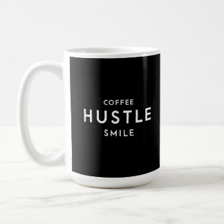 Coffee Hustle Smile Mug