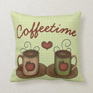 Coffeetime Almofada