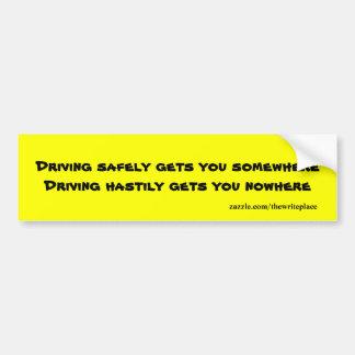 Cofre forte que conduz autocolantes no vidro trase adesivo para carro