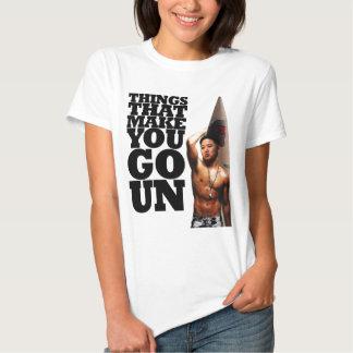 Coisas que o fazem ir Un Camiseta