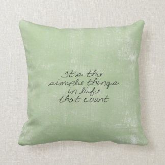 Coisas simples travesseiro