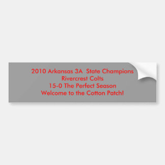 Col 2010 de ChampionsRivercrest do estado de Arkan Adesivo Para Carro