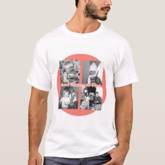 Colagem com 4 imagens - coral da foto de Instagram Camiseta