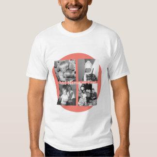 Colagem com 4 imagens - coral da foto de Instagram Camisetas