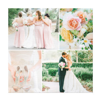 Colagem customizável da foto do casamento