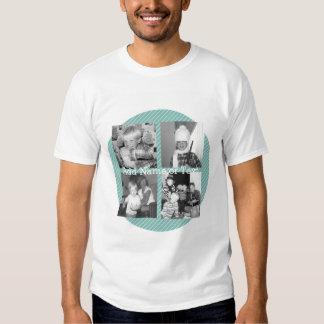 Colagem da foto de Instagram 4 imagens - listras Camisetas