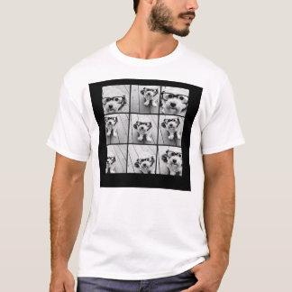 Colagem da foto de Instagram com as 9 fotos Camiseta