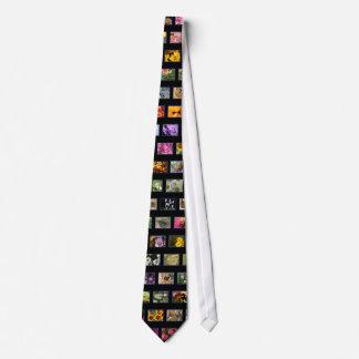 Colagem da foto gravata