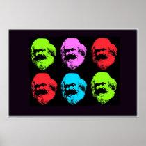 Colagem de Karl Marx Posters