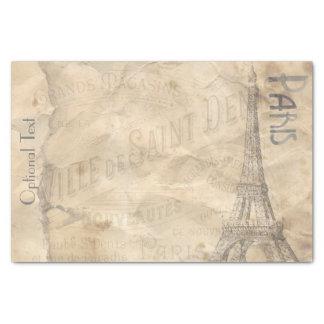 Colagem de papel de Decoupage Paris