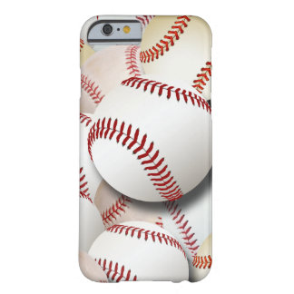 Colagem dos basebol capa barely there para iPhone 6