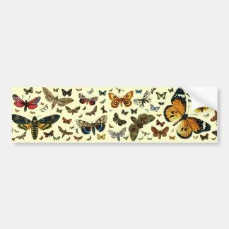 Colagem européia da borboleta adesivos
