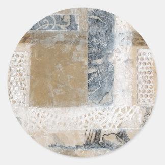 Colagem II do laço Adesivo