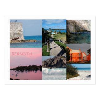 Colagem impressionante da foto de Bermuda por Cartão Postal