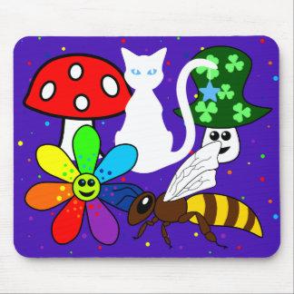 Colagem Mousepad dos desenhos animados