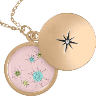 Colar atômica icónica cor-de-rosa de Starbursts