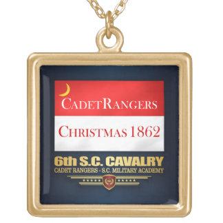 Colar Banhado A Ouro 6o Cavalaria do SC (guardas florestais do cadete)