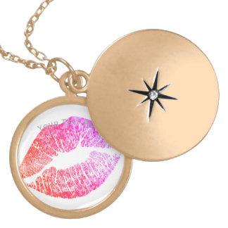Colar Banhado A Ouro Beijos