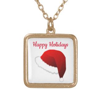 Colar Banhado A Ouro Elogios do Natal! _