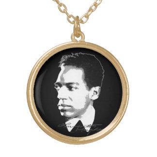 Colar Banhado A Ouro Langston Hughes