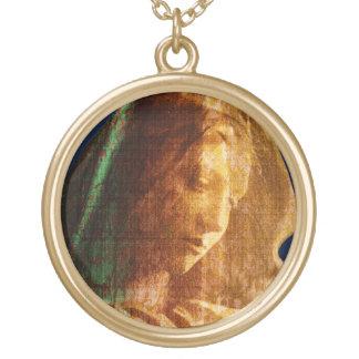 Colar Banhado A Ouro Mãe Mary