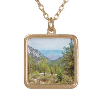Colar Banhado A Ouro Opinião #1 da fuga de Mount Whitney: A vista;