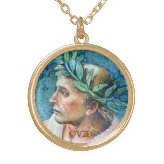 Colar Banhado A Ouro Ovid