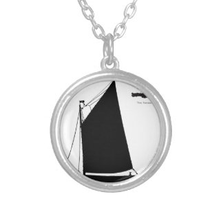 Colar Banhado A Prata 1898 balsa de Norfolk - fernandes tony
